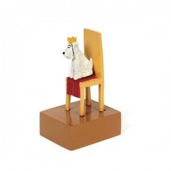 Pixi Moulinsart Tintin - 2ème série - Milou Roi sur trône