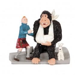 Pixi Moulinsart Tintin - 2ème série - Tintin, Milou et le Gorille