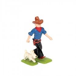 Pixi Moulinsart Tintin - 2ème série - Tintin en cow-boy avec Milou