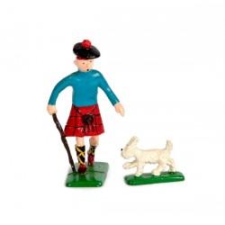 Pixi Moulinsart Tintin - 2ème série - Tintin en Ecossais avec Milou