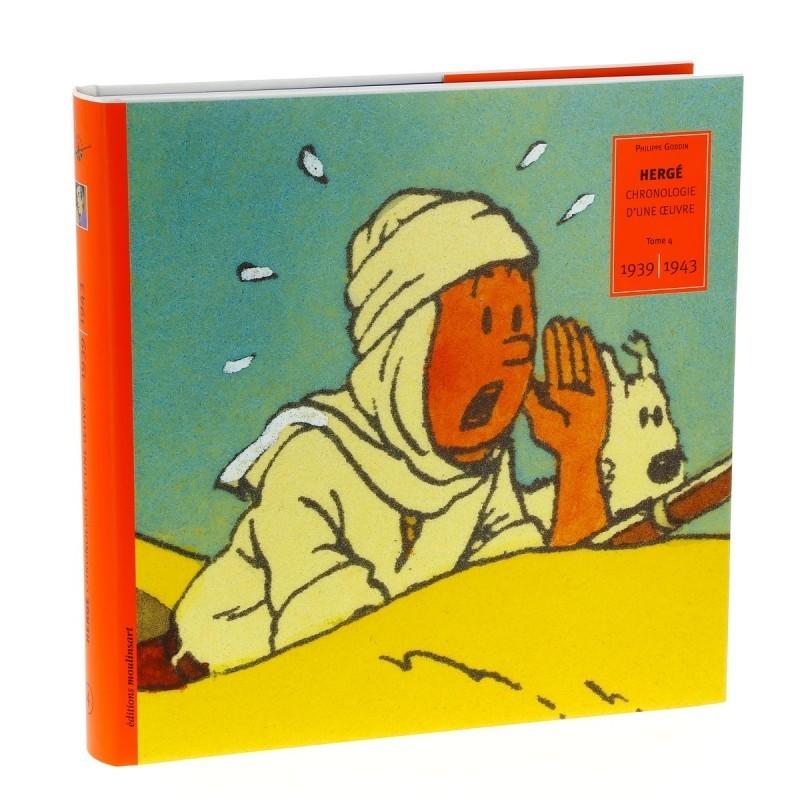 Livre Moulinsart - Hergé : Chronologie d'une Oeuvre Tome 4 1939-1943