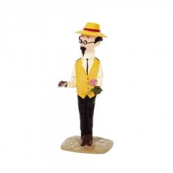 Pixi Moulinsart Tintin - 3ème série - Tournesol à la rose