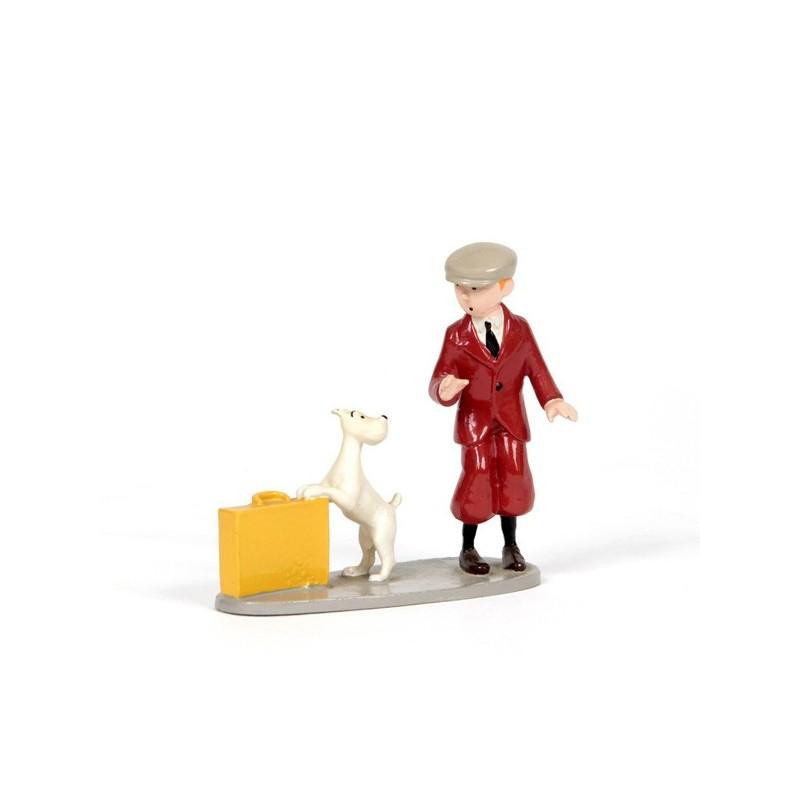Pixi Moulinsart Tintin - 3ème série - Tintin et Milou valise