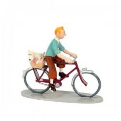 Pixi Moulinsart Tintin - 3ème série - Tintin et Milou à vélo