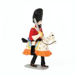Pixi Moulinsart Tintin - 2ème série - Haddock à cheval-jupon