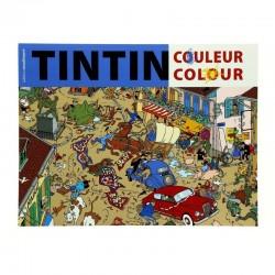 Papeterie Moulinsart Tintin - Livre de coloriages (couverture bleue)