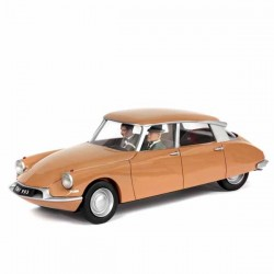 Aroutcheff Jacobs Blake et Mortimer - Citroën DS marron