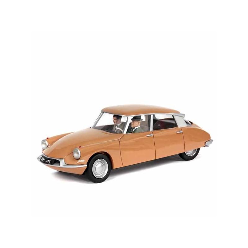 Aroutcheff Jacobs Blake et Mortimer - Citroën DS marron