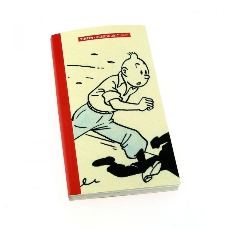 Papeterie Moulinsart Tintin -  Agenda de Poche 2017 Petit Format