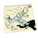 Papeterie Moulinsart Tintin - Calendrier 2017 Grand Format
