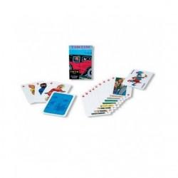 Jeu Moulinsart Tintin - 52 cartes à jouer (voitures)