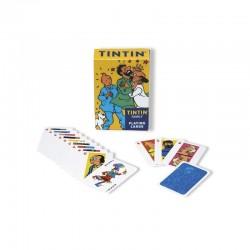 Jeu Moulinsart Tintin - 52 cartes à jouer (familles)
