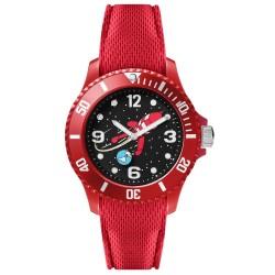 "Horlogerie Moulinsart Tintin - Montre Tintin Lune : Sport Fusée ""S"" (Red)"