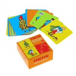Jeu Moulinsart  Tintin - Cartes de mémoire (Costumes)