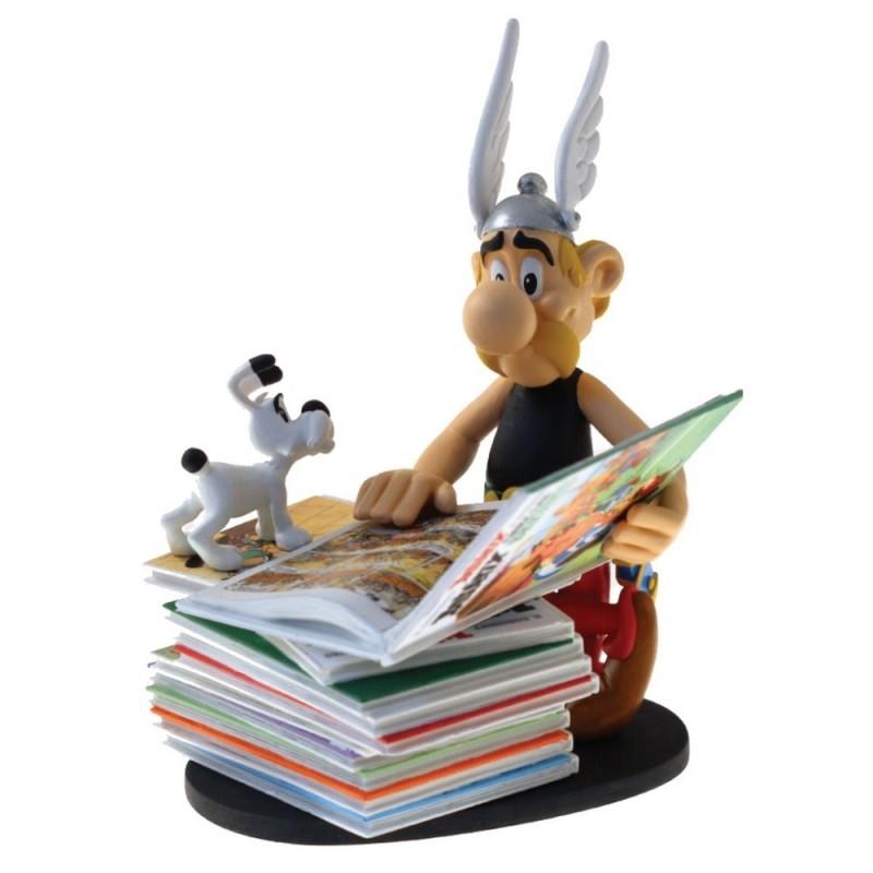 Collectoys Uderzo Astérix - Astérix Pile de Livres (Version 2)