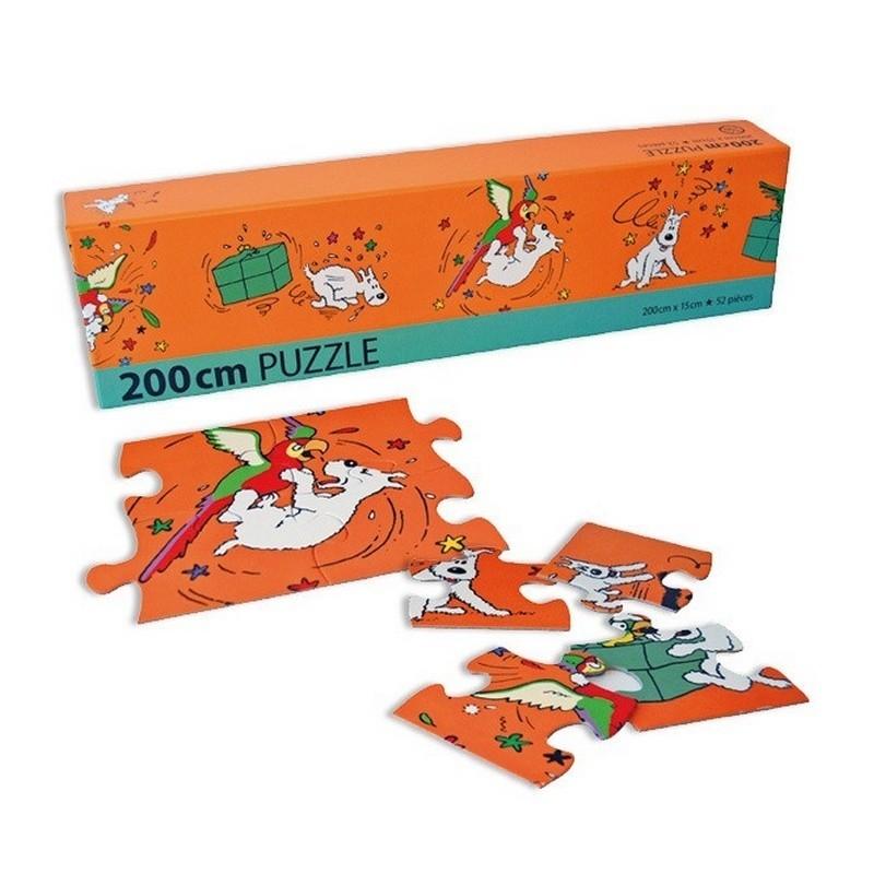 Jeu Moulinsart Tintin - Puzzle 52 pièces Frise Milou