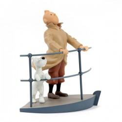 Leblon Moulinsart Tintin - Tintin et Milou Aurore