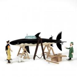 Pixi Moulinsart Tintin - Scène requin Rackham le Rouge