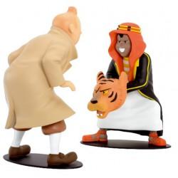 Leblon Moulinsart Tintin - Tintin et Abdallah Face à face