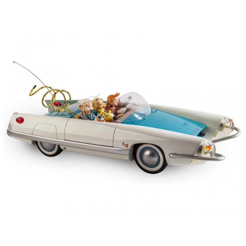"Véhicule Franquin Spirou - ""Garage de Franquin"" Turbotraction 2"