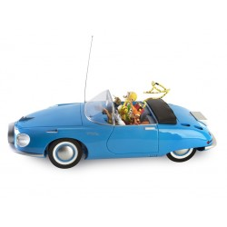 "Véhicule Franquin Spirou - ""Garage de Franquin"" Turbot Rhino bleue"