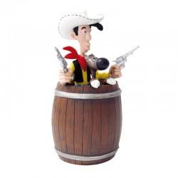 Figurine Plastoy Morris - Tirelire Lucky Luke