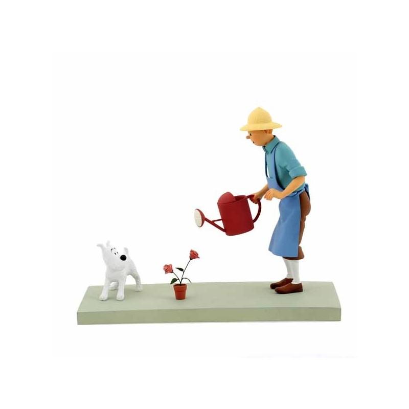 """Fariboles Moulinsart Tintin - """"La Rose"""""""