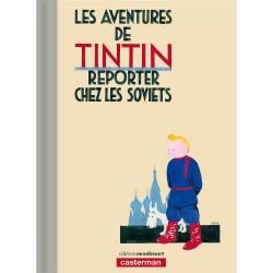 Livre Moulinsart Tintin - Album Tintin au Pays des Soviets Version colorisée Edition LUXE