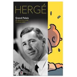 Poster Moulinsart Tintin - Exposition Hergé Grand Palais