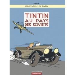 Poster Moulinsart Tintin - Couverture Album CV24 Au Pays des Soviets couleur
