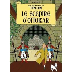 Poster Moulinsart Tintin - Couverture Album CV07 Le Sceptre d'Ottokar