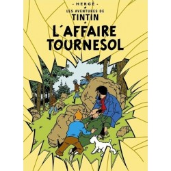 Poster Moulinsart Tintin - Couverture Album CV17 L'Affaire Tournesol