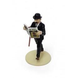 "Plomb Moulinsart Tintin - ""Lisez Tintin"" Dupont"