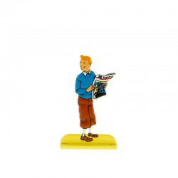 Relief Moulinsart Tintin - Fig 26 Tintin au journal