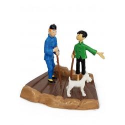 Plomb Moulinsart Tintin - Tchang Petit Guide
