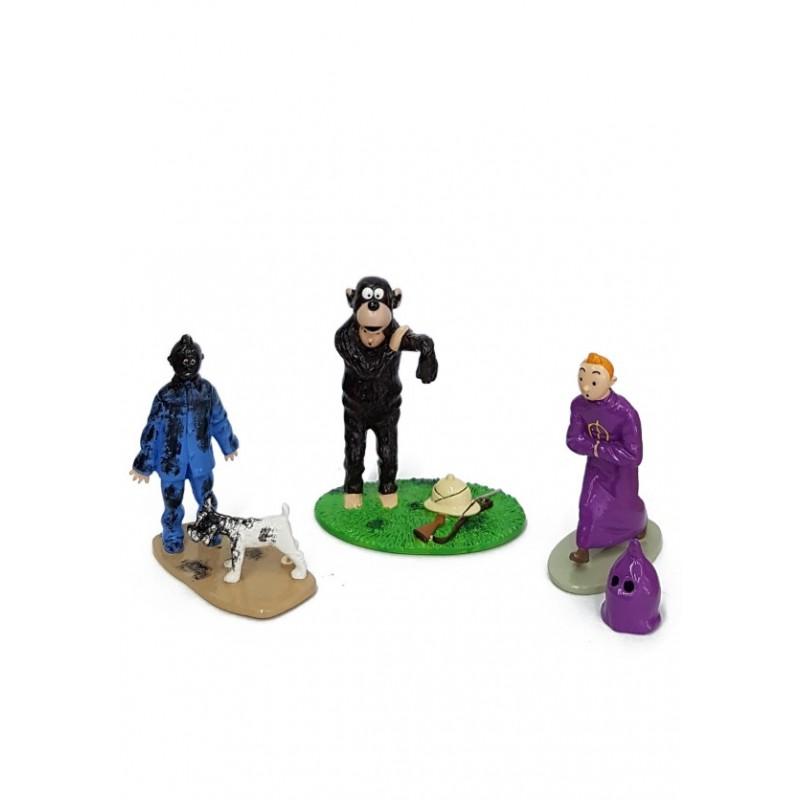 Pixi Moulinsart Tintin - Collection Expressions - Tintin Trio