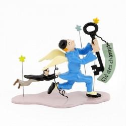 Pixi Moulinsart Tintin - Coll. Rêves et Cauchemars - Tintin et la Clé des Champs