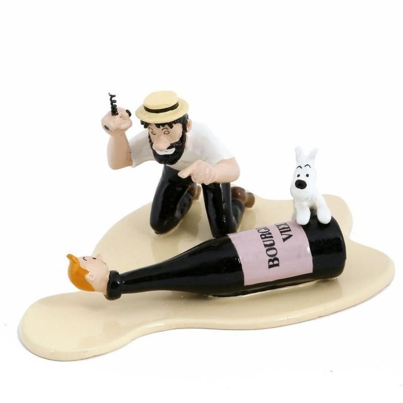 Pixi Moulinsart Tintin - Coll. Rêves et Cauchemars - Haddock et le vieux Bourgogne