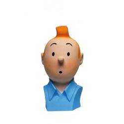 Figurine Moulinsart Tintin - Tintin buste polychrome
