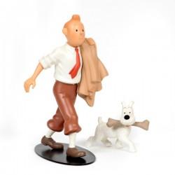 Leblon Moulinsart Tintin - Tintin globe trotter (Nostalgie)