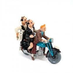 Pixi Moulinsart Tintin - Collection Classique - Tintin et les Dupondts sur la moto