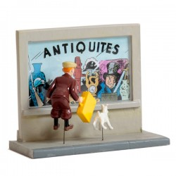 Pixi Moulinsart Tintin - Collection Classique - Tintin vitrine