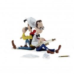Pixi Morris Lucky Luke - Morris et Lucky Luke Dos à dos