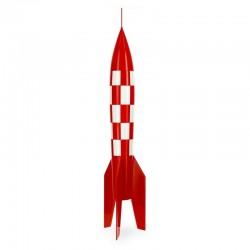 Figurine Moulinsart Tintin - Fusée XFLR-6 (résine)
