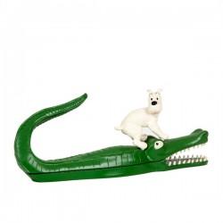 Pixi Moulinsart Tintin - Milou sur le crocodile Regout (Boîte à crayons)