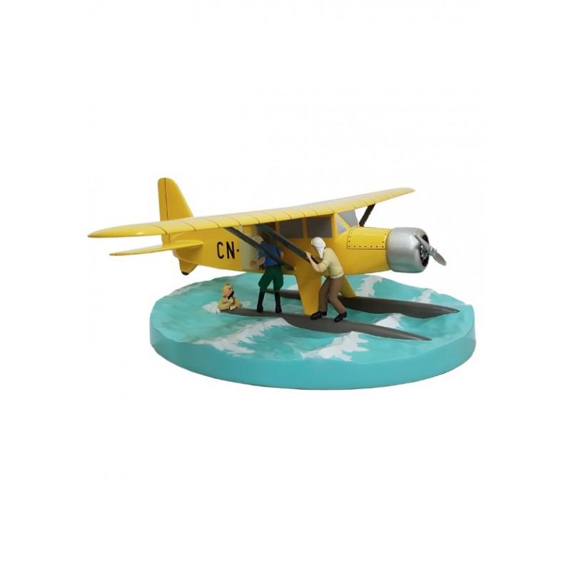 Véhicule Moulinsart Tintin - Hydravion CN-3411 Crabe aux Pinces d'Or