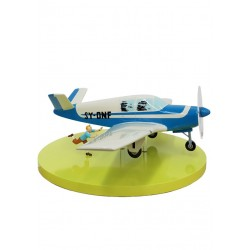 Véhicule Moulinsart Tintin - Avion Beechcraft Bonanza A35