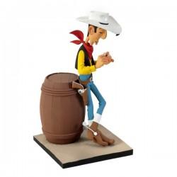 Fariboles Morris Lucky Luke - Lucky Luke sur le tonneau