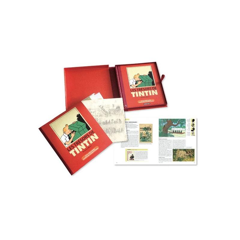Livre Moulinsart Tintin - Coffret : Les Trésors de Tintin
