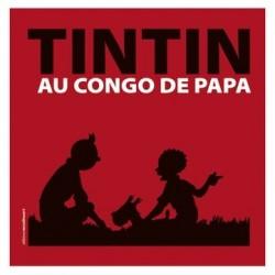 Livre Moulinsart Tintin - Tintin au Congo de papa